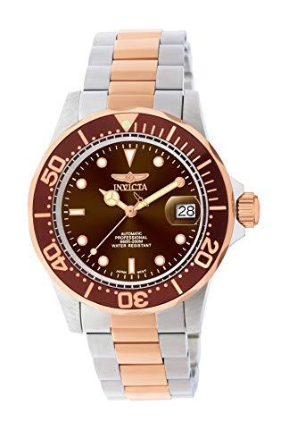 Invicta 11241 Pro Diver Reloj para Hombre acero inoxidable Automático Esfera marrón
