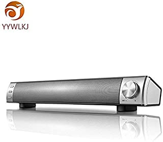 Youtrico Sound Bar, Soundbar Home Theater TV Speaker, Wired and Wireless Bluetooth Audio Speakers, TF Card- Surround Sound Bar TV/PC/Cellphone/Tablet (2018 Upgraded)