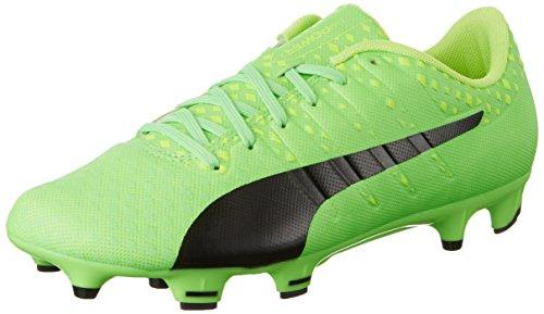 Puma Evopower Vigor 3 Fg, Scarpe da Calcio Uomo, Verde (Green Gecko Black-Safety Yellow 01), 43 EU