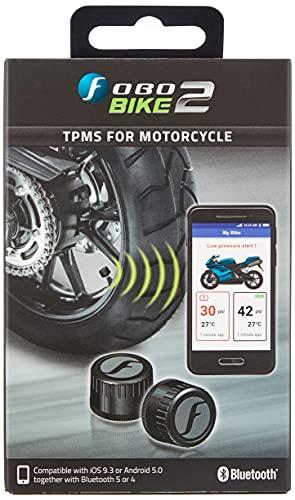 FOBO FB1574 Bike Bluetooth advanced Tire Pressure Monitoring System TPMS, Schwarz