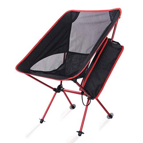 ch-AIR Ultraleichter Aluminium Klappstuhl Für Den Außenbereich Tragbar Freizeit Camping Angeln Picknick Wandern Garten Grill Aktivität Camping Grill Strand Sitz Wanderhocker