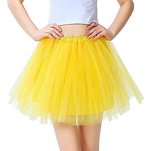iLoveCos Meisje Ballet Dansende Rok 80s Neon Tutu Rok Petticoat Fancy Jurk jaren 1980 Kostuum Accessoires voor Kinderen
