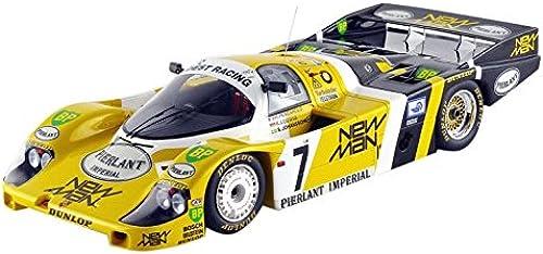 Spaßk 18lm84 Porsche 956 w Man Gewinner Le Mans 1984 Ma ab 1 18 Gelb WeißSchwarz