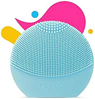 FOREO Luna Play Plus Portable Facial Cleansing Brush, Mint, 85g