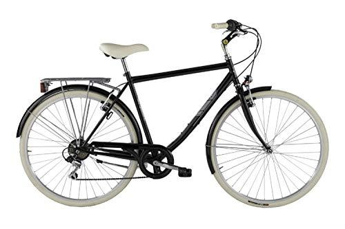"""Alpina Bike Sharin 28"""", Bicicletta Uomo, Nero, 6v"""