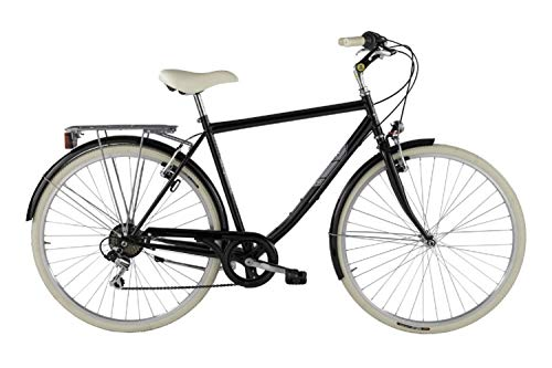 Alpina Bike Sharin 28', Bicicletta Uomo, Nero, 6v
