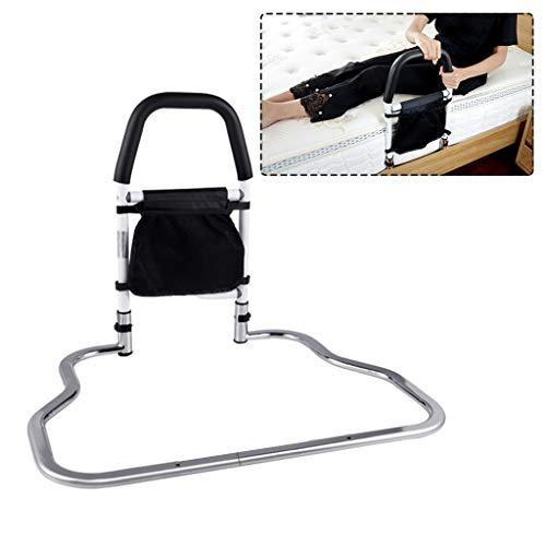 LHNLY-Handlauf Bettgitter für Erwachsene Senioren - Bett Aufstehhilfe Bettgalgen Bettgriff Haltegriff Edelstahl Einstiegshilfe Für mehr Unabhängigkeit und Komfort