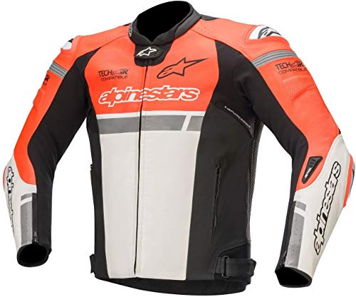 Alpinestars Chaqueta moto Missile Ignition Lt Jacket Tech-air Compatible Red Fluo White...