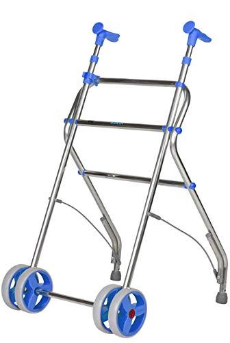 Forta QA-00154/02 - Andador de aluminio plegable air azul