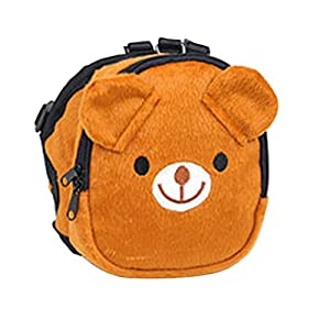 Cute Pet Backpack Harness Travel Outdoor Hiking Adjustable Leash Saddlebag for Small Dogs