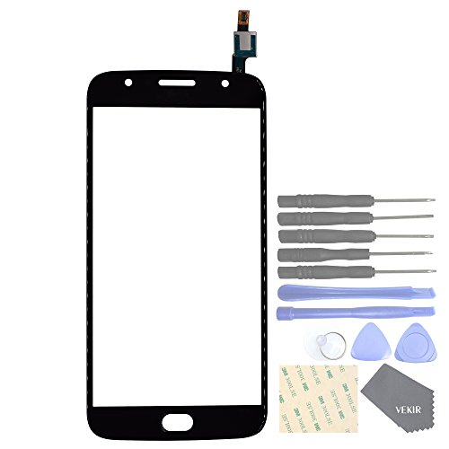 VEKIR Sostituzione dello Schermo Touch Glass per Motorola Moto G5S Plus XT1803 XT1805 XT1804 XT1806 XT1802 (Black)