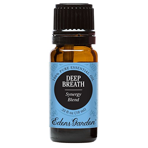 Edens Garden Deep Breath Essential Oil Synergy Blend, 100% Pure Therapeutic Grade (Highest Quality Aromatherapy Oils- Congestion & Cold Flu), 10 ml