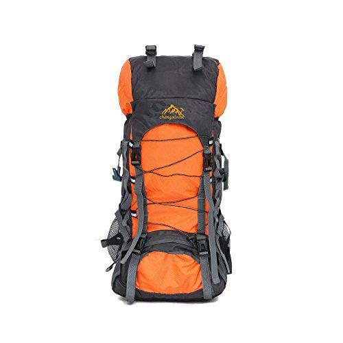 Sunday 60L Randonnée à Dos Randonnée Trekking Sac pour l'escalade, Le Camping, la randonnée résistant à l'eau, Voyage et Alpinisme