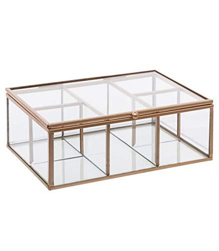 Glas Schmuckschatulle