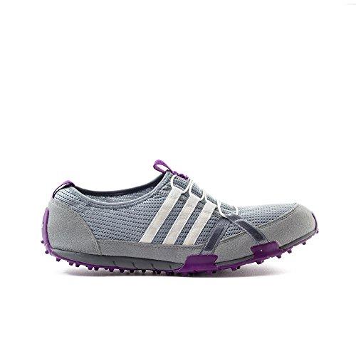 adidas - Bailarinas para mujer Gris midgre/runwht/tripur, color Gris, talla 36 2/3