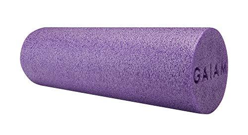 Buy Discount Gaiam Restore Muscle Therapy Foam Roller, Purple, 18
