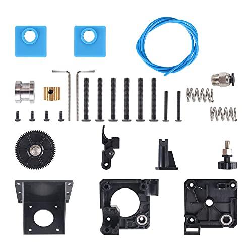 Qooltek Kit di Aggiornamento dell'estrusore per 3D Drucker, Compatibile con Filamento PLA/ABS/PETG/TPU da 1,75 mm, Sostituzione per Creality Ender 3/ CR 10 /CR 10 Pro/CR 10S.