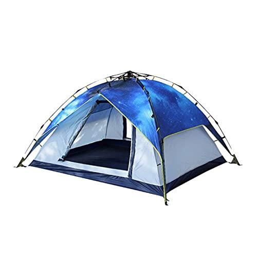 YMDA Tienda al Aire Libre para 3-4 Personas, Carpa de Engrosamiento automático, Carpa de Camping a Prueba de Lluvias, toldo Sol para montañismo, campaña de Fiesta de Picnic