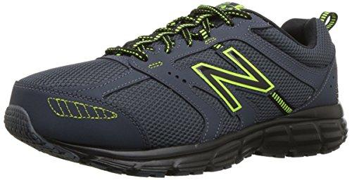 New Balance 430 V1 - Zapatillas de correr para hombre, Negro (Thunder/Negro), 45 EU