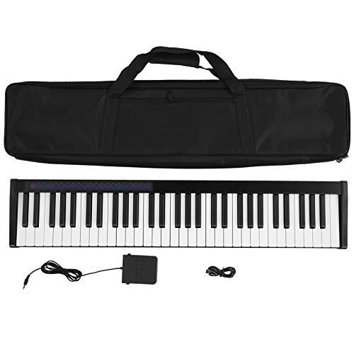 Piano electrónico, piano electrónico portátil con teclado...