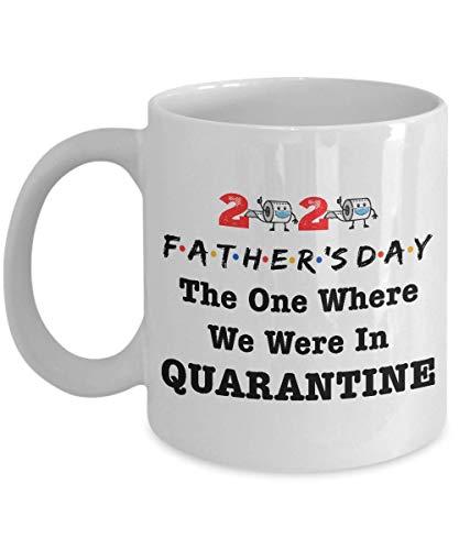 chipo Kaffeebecher Epischer Vatertag 2020 Der Tag, An Dem Wir In Quarantäne Waren Toilettenpapier Quarantäne Vater Vater Vater Vatertag Kaffeetasse Personalisierte Keramik Geschenk M