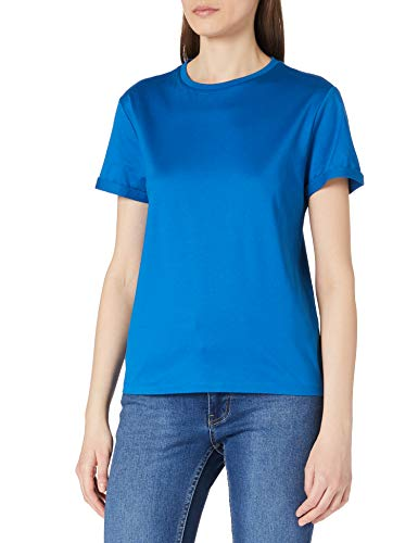 BOSS C_Elinea 10232049 01 Camiseta, Open Blue476, M para Mujer