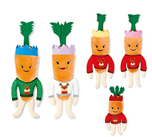 Kevin The Carrot and Family (Includes Katie and the Kids) 2020 Aldi Soft Toy