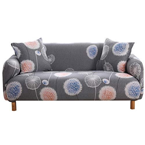 DEYUAN High Stretch Sofabezug für Wohnzimmer Sesselbezüge Sofastuhlbezüge Schonbezüge Möbelbezug Soft Thick Jacquard Stoff Waschbar, 1/2/3/4 Sitze