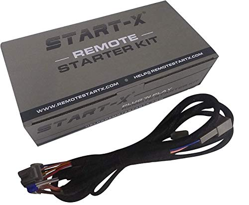 Start-X Remote Starter Kit for RAM Pickup Truck 2018-2020 Key Start || Key Start Trucks ONLY || Plug N Play || 3X Lock to Remote Start