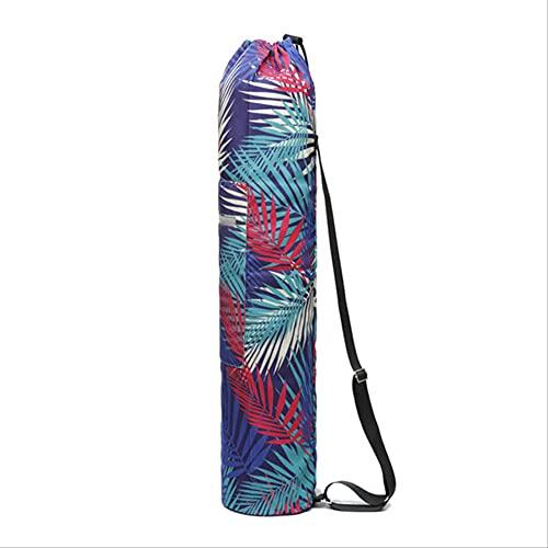 HHBB Moda Yoga Mat Bag Accesorios deportivos al aire libre Floral Impreso Yoga Mat Bag Correa ajustable 2