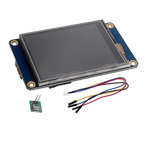 Nextion 3,5 pulgadas Pantalla táctil resistiva HMI LCD Módulo 480x320 16MB Flash para Arduino Raspberry Pi (NX4832T035)
