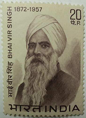 Bhai Vir Singh. Personality, Poet, Scholar, Writer, Novelist, Headgear, Sikhism, 20 P.