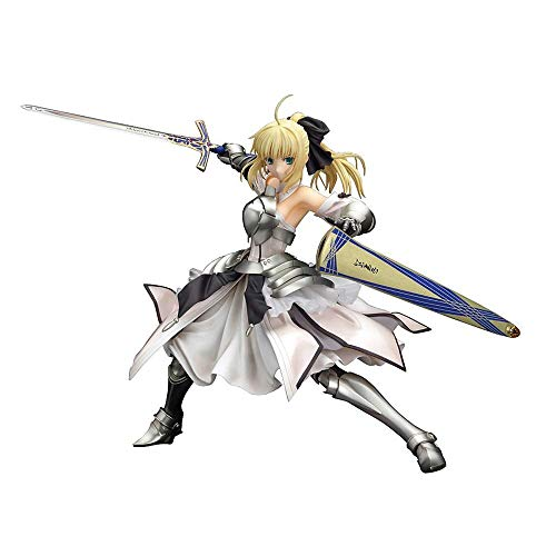GALEI Fate/Unlimited Codes: Saber Lily Distante Avalon Anime Action Figure Giocattolo Modello Scherza Il Regalo del PVC Carattere Souvenir Crafts Ornament Statua