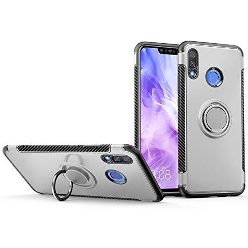 GarHold Funda Huawei Nova 3 Case,Silicona antichoque TPU+PC Cover,360° Patada giratoria Imanes de…