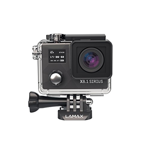 LAMAX X8.1 Sirius Action Camera FULL HD 1080p zwart