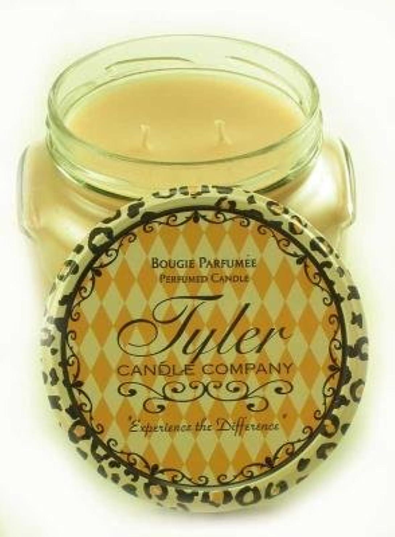 崩壊おなじみの先史時代のEntitled Tyler 11オンス香りつき2-wick Jar Candle