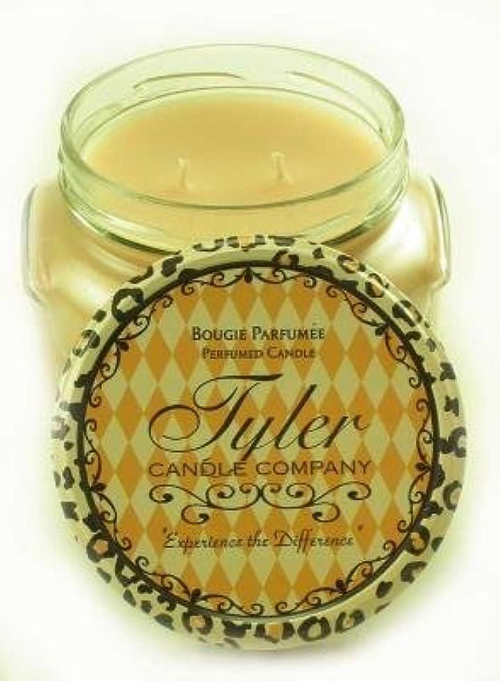 ペフ被害者八百屋さんEntitled Tyler 11オンス香りつき2-wick Jar Candle