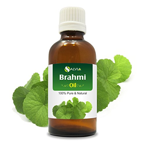 Brahmi (Piper nigrum) Essential Oil 100% Pure & Natural - Undiluted Uncut Infused Oil - Perfect for Aromatherapy - Therapeutic Grade - 50 ML