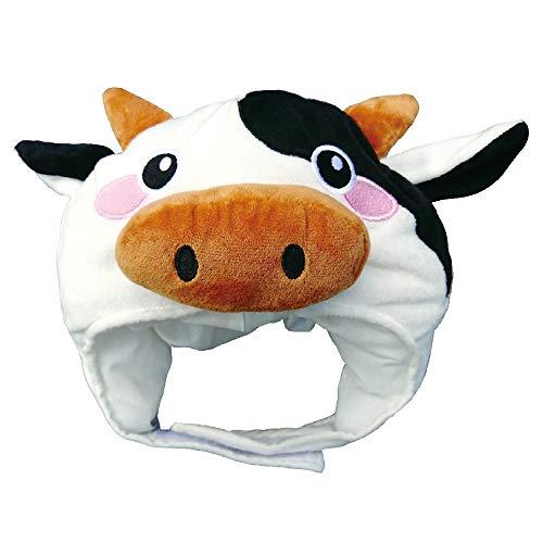 犬猫用帽子 なんともかわいいウシさんの干支かぶり帽 リトルモーモー【S】(3173)愛犬愛猫が可愛いウシさんに変身する帽子です 年賀状やSNS映えに最適 ペット用品専門メーカーポンポリース