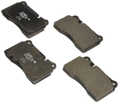 Bosch 0986494207 EuroLine Disc Brake Pad Set for Volkswagen: 2006-17 Touareg - FRONT I Chevrolet: 2009-17 Corvette; Ferrari: 2009-13 California - REAR