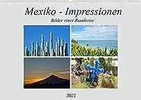 Mexiko - Impressionen (Wandkalender 2022 DIN A2 quer): Kommen Sie mit auf eine Bilderreise durch Mexiko! (Monatskalender, 14 Seiten )