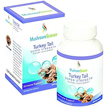 Turkey Tail Coriolus Super Strenght 500mg