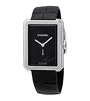 Chanel Boy-Friend Black Dial Ladies Watch H5319