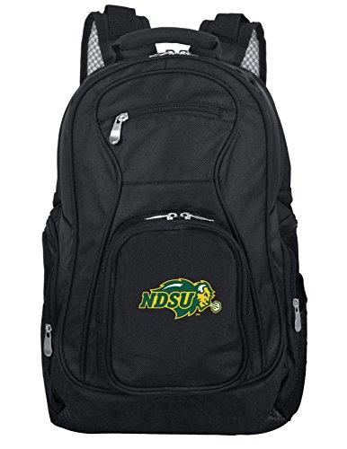 NCAA North Dakota State Bison Laptop Backpack, 19-inches, Black
