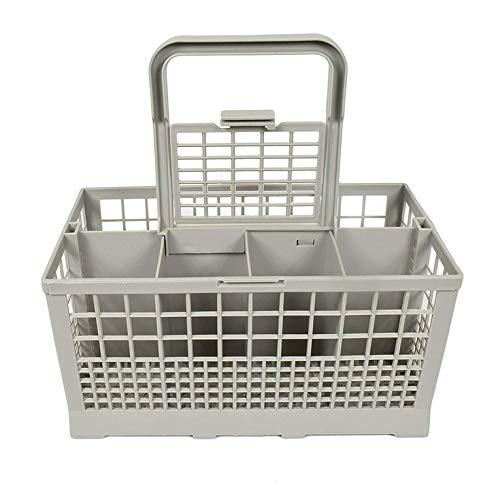 #N/V Caja de almacenamiento de lavavajillas universal cuadrada ligera portátil para lavavajillas cubertería cesta europea americana