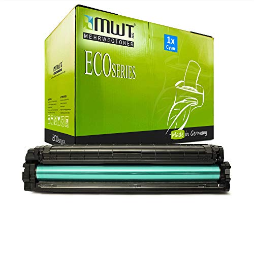 1x MWT Druckerpatrone für Samsung C3060 C3060ND C3010 C3010ND C3060FR ersetzt CLT-C503L CLT-C503L/ELS Cyan