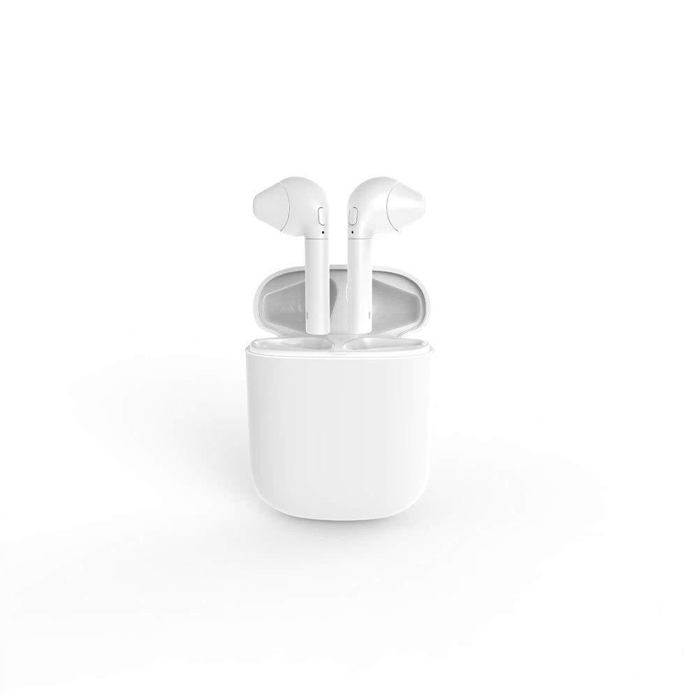 Auriculares inalámbricos con Funda de Carga Apple Airpods Alternativa para iPhone X, 8, 7, 6 y Android: Amazon.es: Electrónica