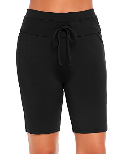 BriaPa Clip Womens Quick Dry Board Shorts Beach Shorts,Parent-FBA