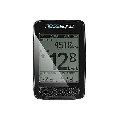GiANT Neos Sync Radsport Radfahren Fahrrad Smart Gauge Fahrradzubehör Fahrradcomputer Freizeit 410000047 410000048 (410000048 (Mit Sensor))