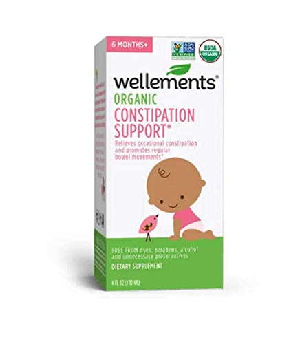 Wellements Baby Constipation Support, 4 Fl Oz